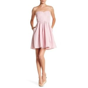 J. Crew Marlie Classic Faille Dress In Shell Pink